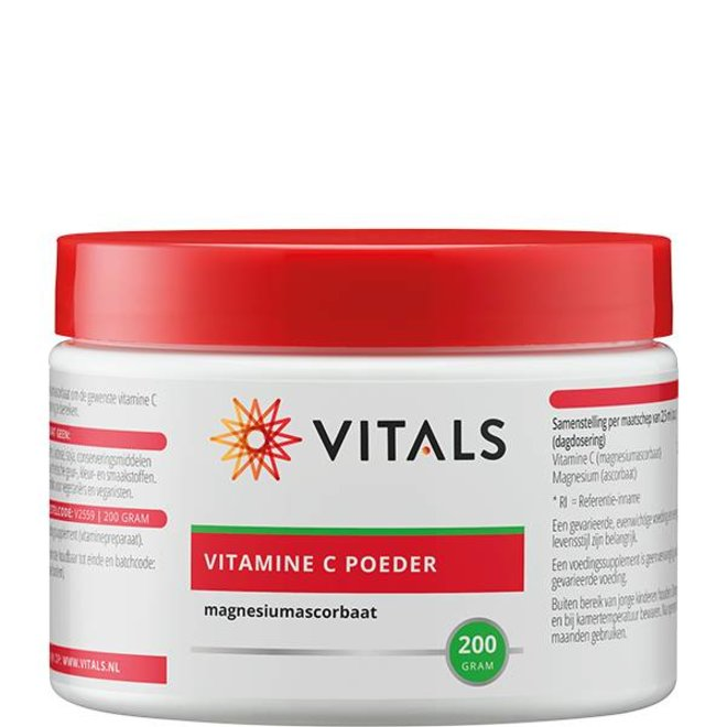 Vitamine C poeder (magnesiumascorbaat) 200g