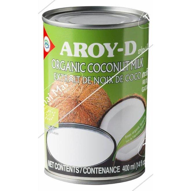 Biologische Kokosmelk 17% vet - 400ml - BIO