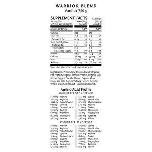 Sunwarrior Warrior Blend Proteïne Vanille - 750g - BIO