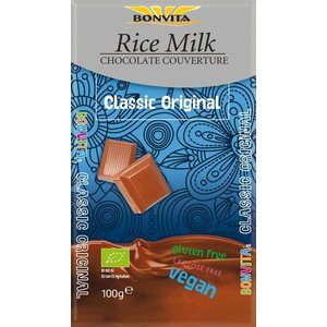 Bonvita Rijstmelk chocolade 100g