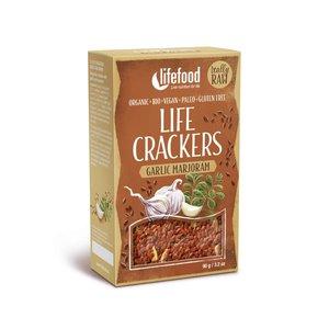 LifeFood Marjolein Knoflook Crackers 90g