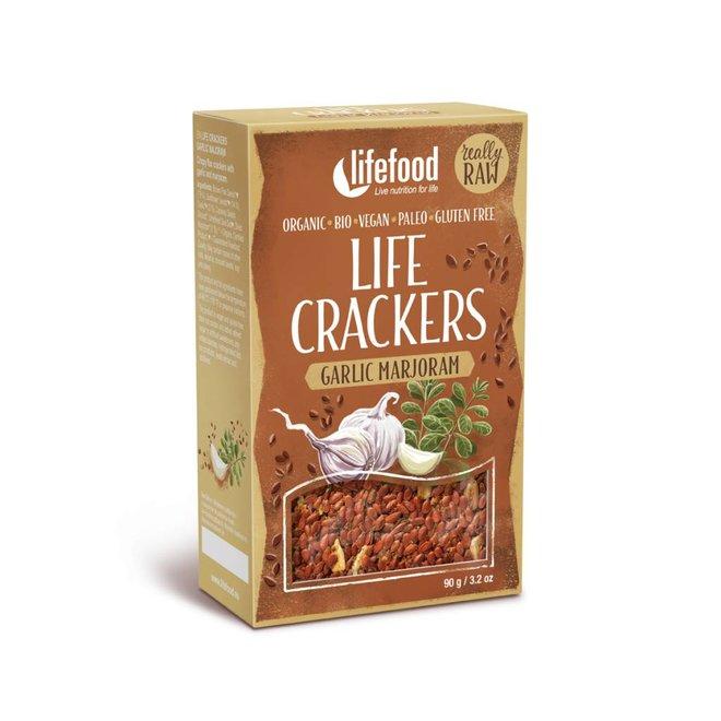 Crackers Marjolein Knoflook - 90g - BIO