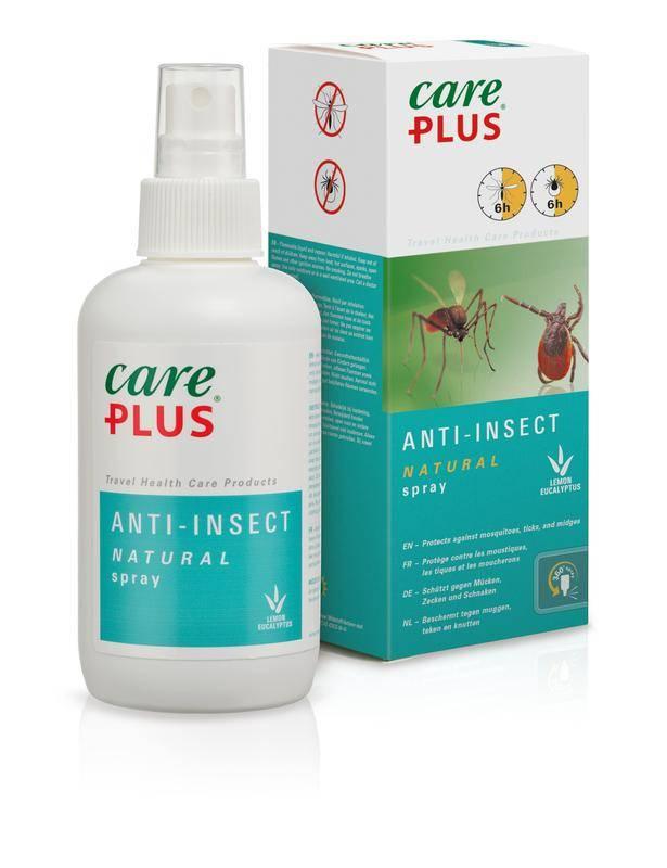 Anti-insectspray zonder DEET