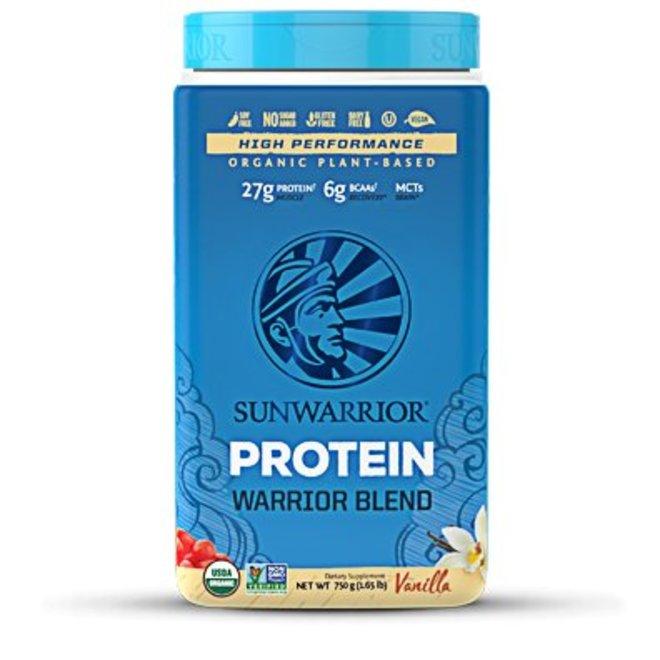 Warrior Blend Proteïne Vanille - 750g - BIO