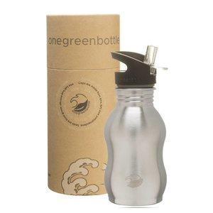 One Green Bottle Curvy - Nude - met Grijze Quench cap - 350ml
