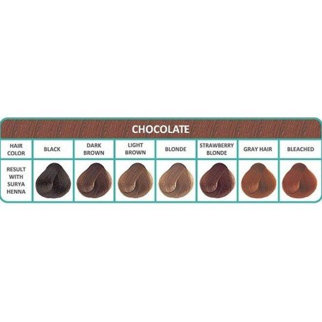 Haarkleuring Henna Cream - Chocolate