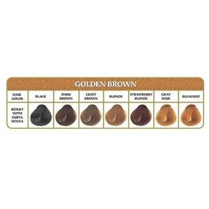Surya Brasil Haarkleuring Henna Powder - Golden brown