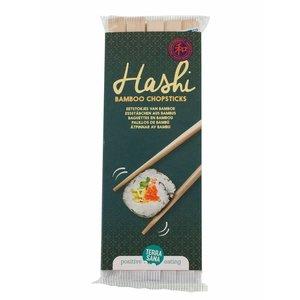 Terrasana Eetstokjes van bamboe - Hashi - 10 paar