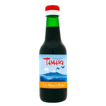 Flesje Tamari saus van de Nieuwe Band