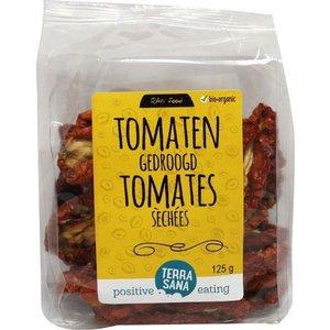 Terrasana Raw Tomaten Zongedroogd Met Zout 125gr