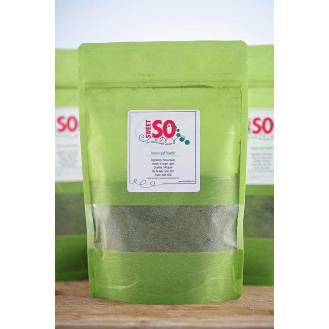 Stevia Poeder - Groene Stevia Blad (gemalen) - 100g