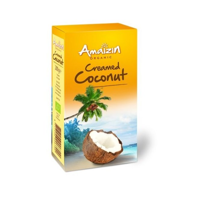 Creamed Coconut/Santen 200g - BIO