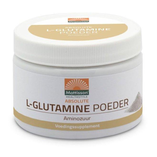 Mattisson L-Glutamine poeder - Aminozuur - 250g