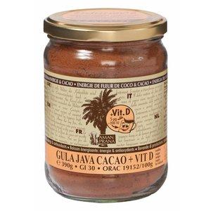 Amanprana Gula Java cacao + Vit. D - 390g