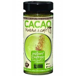 Amanprana Cacao Matcha & Café - 230gr - BIO