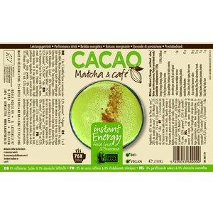 Amanprana Cacao Matcha & Café - 230gr