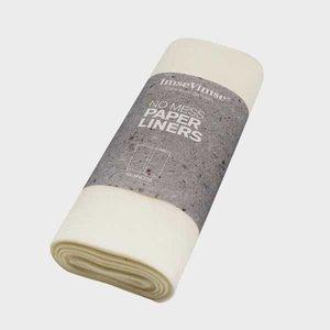 Imse Vimse Biologisch afbreekbare papieren liners - 100 vellen - 19,5x28cm