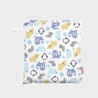 Wetbag Medium - Winterprint met rits
