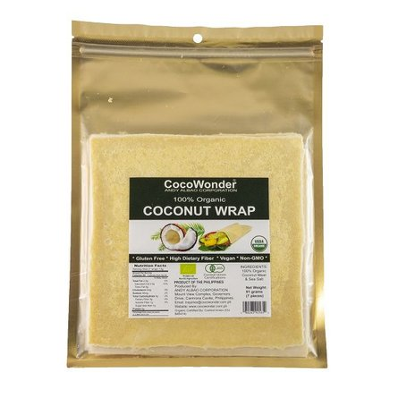 Paleo Wraps / Kokoswraps