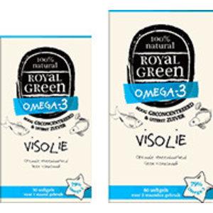 Royal Green Omega-3 Visolie - 60 softgels