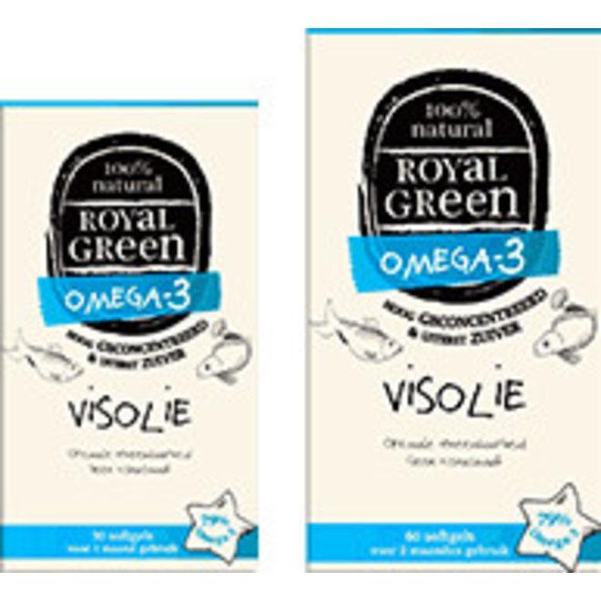 Omega-3 Visolie - 60 softgels