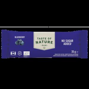 Taste of Nature - Raw Blueberry Reep - 35g - BIO