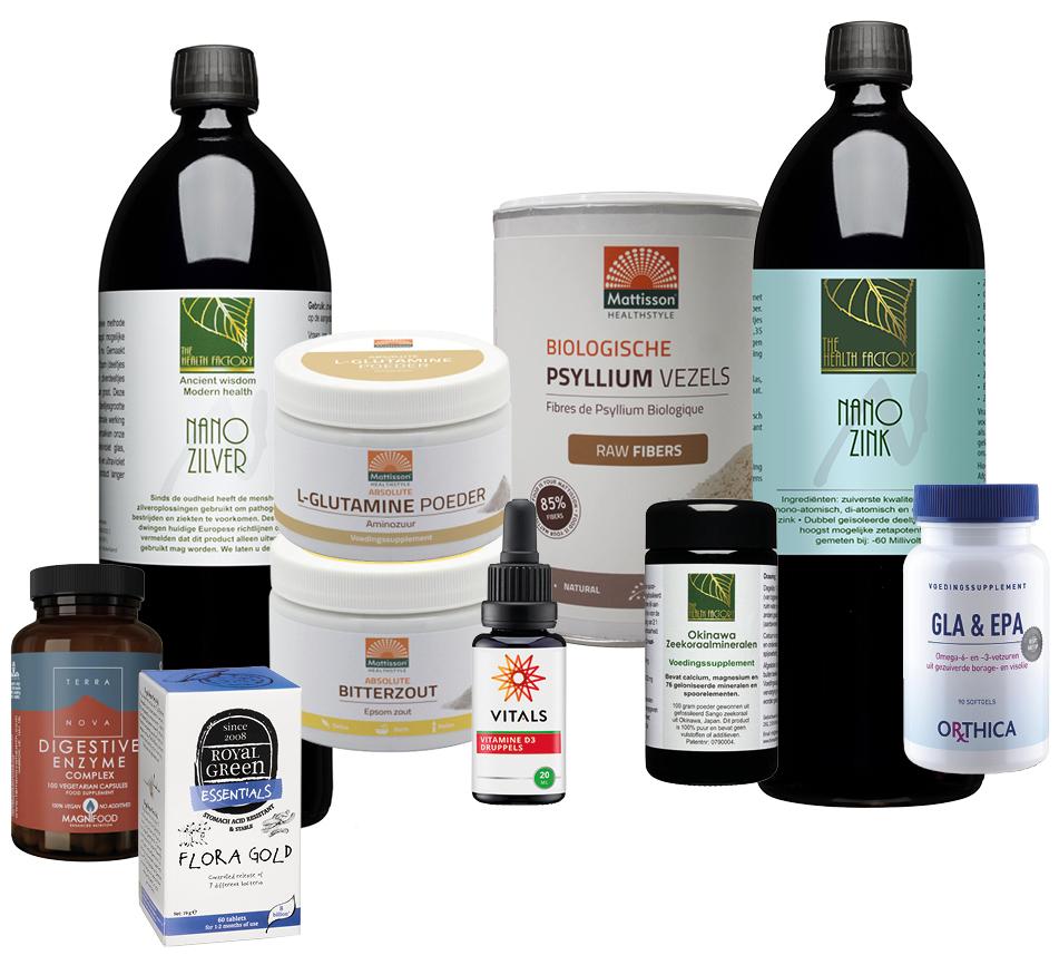 Leaky gut producten pakket