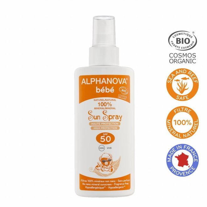 SPF 50 Baby  Sunspray - BIO 125ml