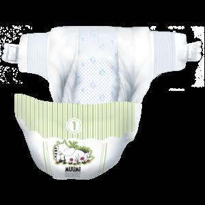 Muumi Baby Eco Muumi Luiers New Born - Maat 1 - 2-5 kg - 25st