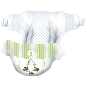 Muumi Baby Eco Muumi Luiers Midi - Maat 3 - 5-8 kg - 50st