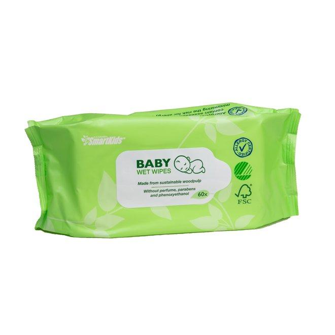 Ecologische babydoekjes - 60st