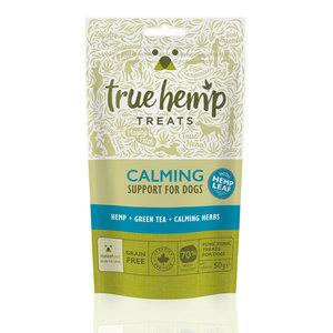 True Hemp Honden Snacks - Kalmerend - 50gr - THT 17-7-2021