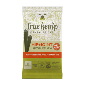 True Hemp Honden Dental Sticks - Heup & Gewricht - 100gr