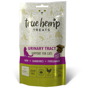 True Hemp Kattensnoepjes - Urinewegen - 50gr