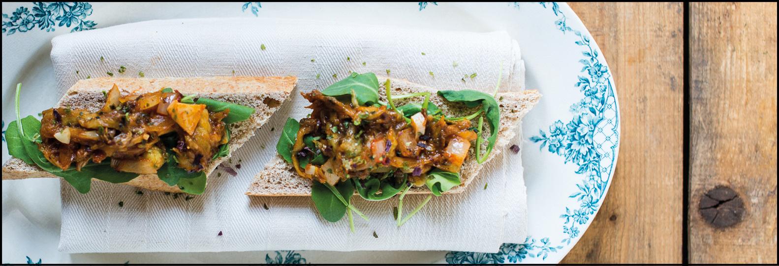Aubergine Kaviaar - Lunch/Snack