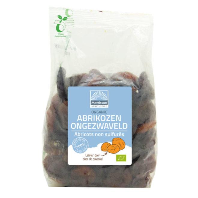 Abrikozen Ongezwaveld - 500g - BIO
