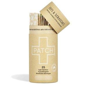PATCH Bamboe Pleisters - Natural - 1 Tube met 25 stuks