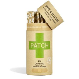 PATCH Bamboe Pleisters - Aloe Vera - 1 Tube met 25 stuks