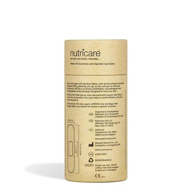 Bamboe Pleisters - Aloe Vera - 1 Tube met 25 stuks