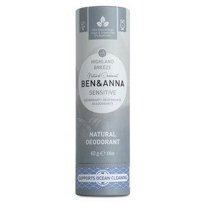 Ben & Anna Highland Breeze sensitive soda deodorant stick - 60g
