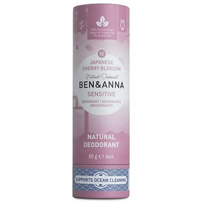 Cherry Blossom sensitive soda deodorant stick - 60g