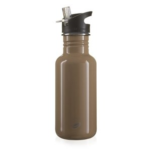 One Green Bottle Touch Canteen - Hazlenut - met Quench cap - 500ml