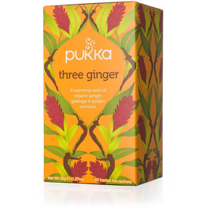 Three Ginger (gember) - kruidenthee - BIO