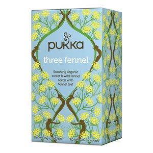 Pukka Three Fennel (Venkel) - kruidenthee - BIO