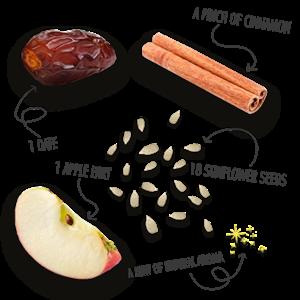 FBR Fruitreep met appel/kaneel smaak - 4-pack
