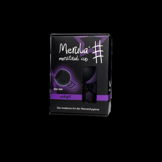 Menstruatiecup Midnight - Zwart - One Size - 1st