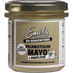 Emils Mayo Knoflook ( veganistisch ) 125g - BIO