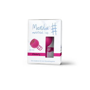 Merula Cup Menstruatiecup Strawberry - Roze - One Size - 1st