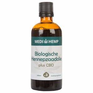 Medihemp Hennepzaadolie Plus 2% CBD - 100ml - BIO