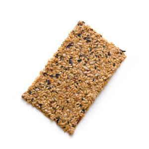 Biobites Lijnzaad Crackers Zeewier - (6st) 90g - BIO